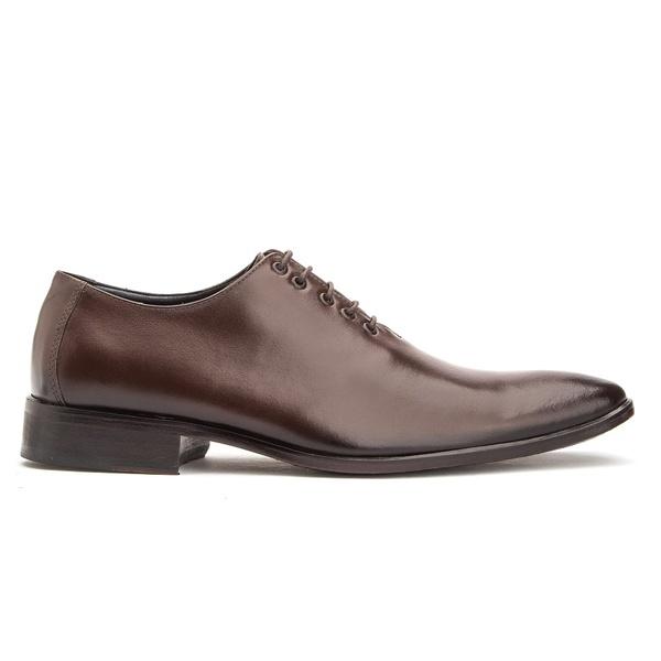 Sapato Social em Couro Marrom de Amarrar