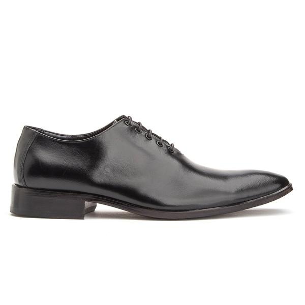 Sapato Social em Couro Preto de Amarrar