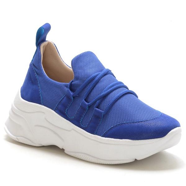 Tênis Feminino Sneaker Chunky Azul