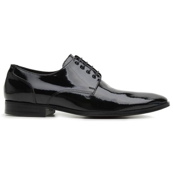 Sapato Social Preto Verniz