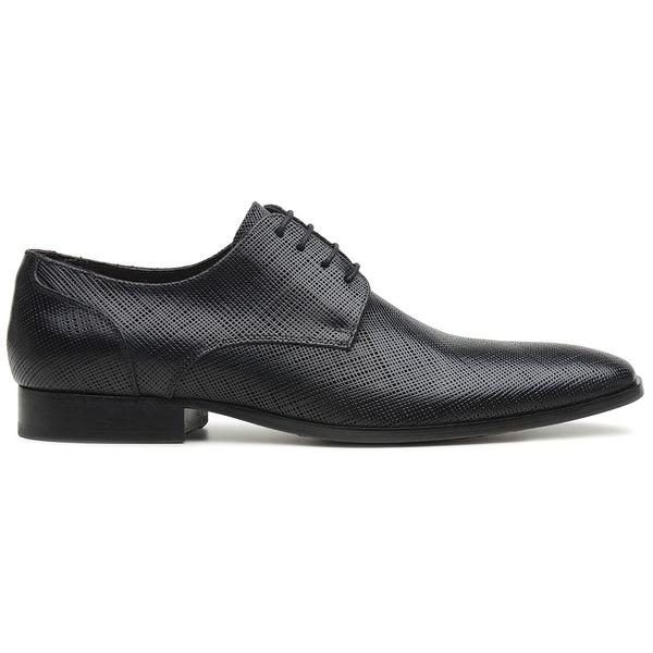 Sapato Social Preto em Couro