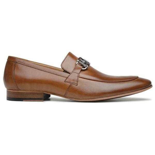 Sapato Social Couro Caramelo Veg