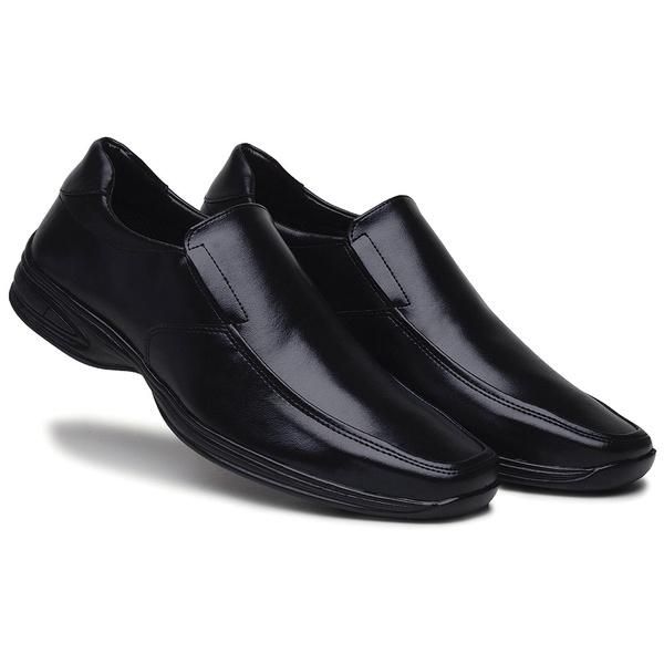 Sapato Social Preto Conforto