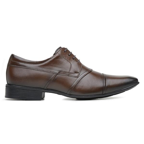 Sapato Jota Pe Marrom Air Manhattan