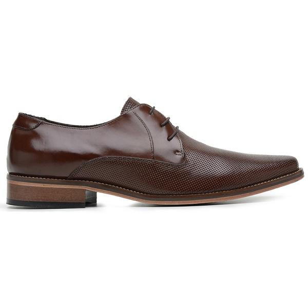 Sapato Social Couro Mouro Estampa