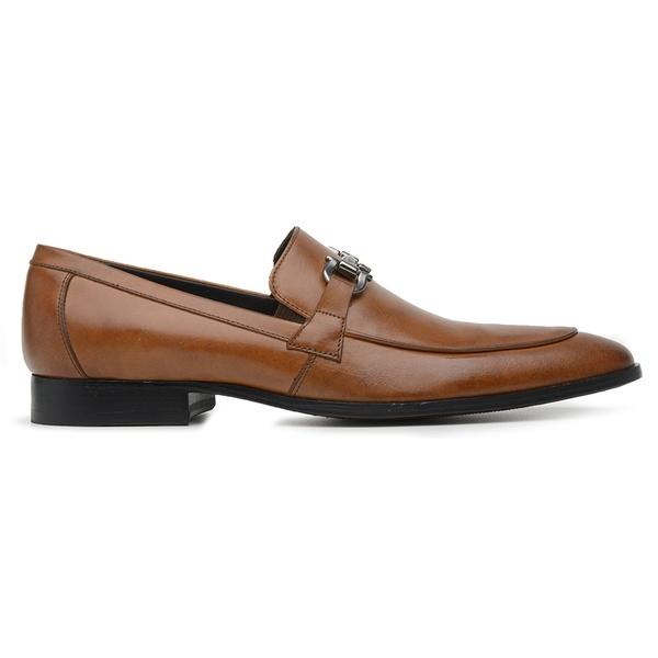 Sapato Social Couro Caramelo Premium Veg
