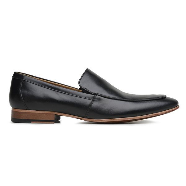 Sapato Social Preto Couro Veg