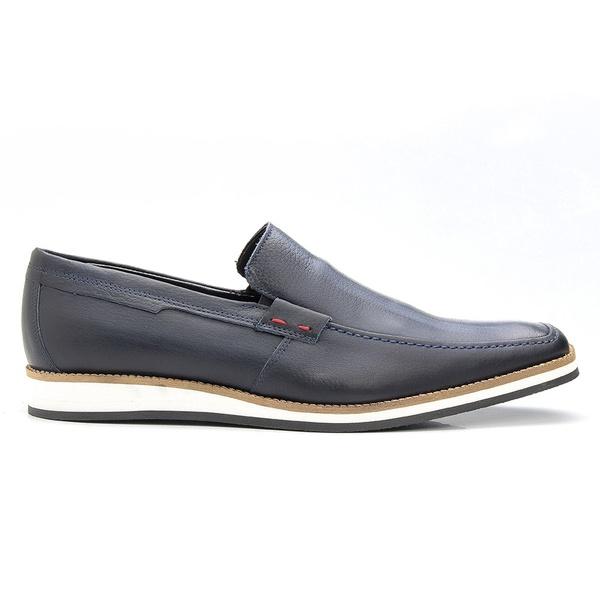 Sapato Casual Marinho Estonado
