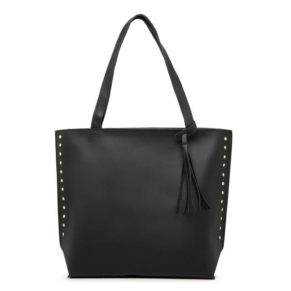 Bolsa Feminina Sacola Bag Preta