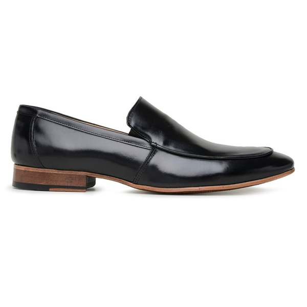 Sapato Social Preto Couro Wood