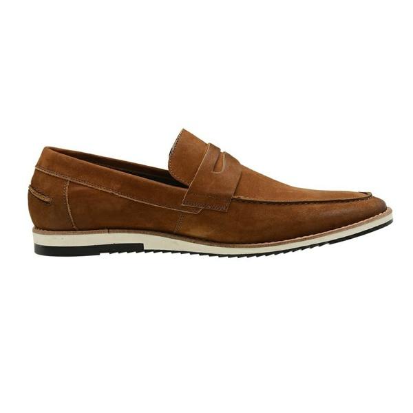 Sapato Casual Couro Havana Nobuck