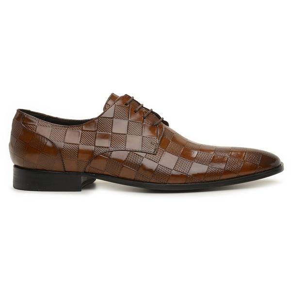 Sapato Social Couro Wisky Moss