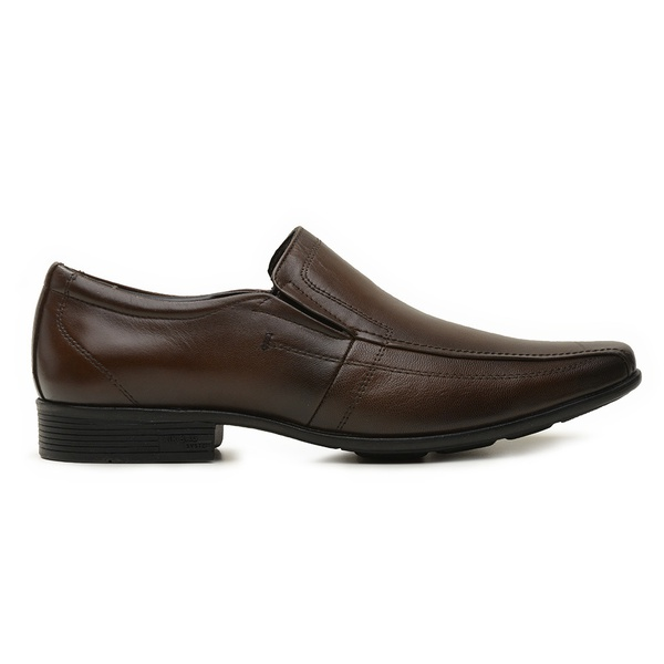 Sapato Jota Pe Couro Marrom Air Magic