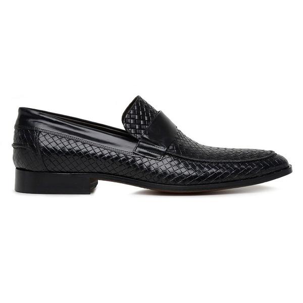 Sapato Social Couro Preto Trisse