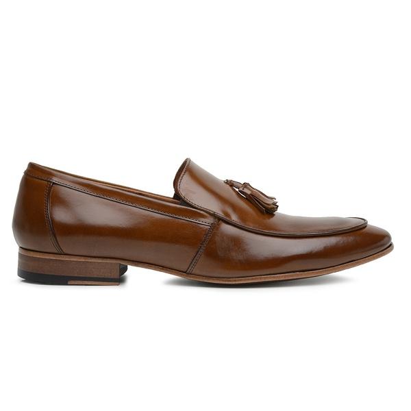 Sapato Social Whisky Couro Wood Bambolim