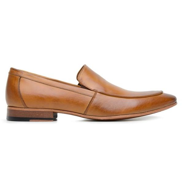 Sapato Social Tan Couro Wood