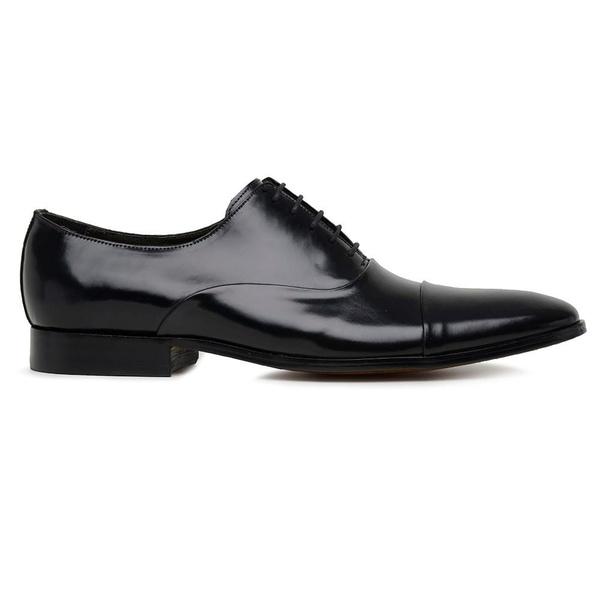 Sapato Social Preto Couro Premium