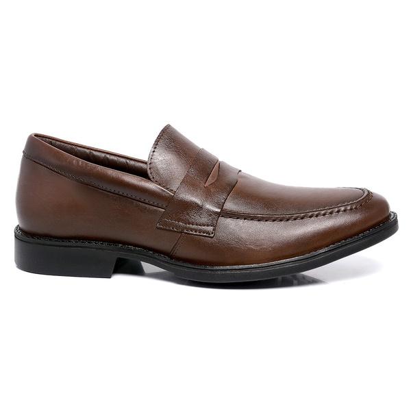 Sapato Masculino Marrom em Couro Toro