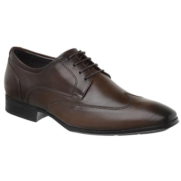 Sapato Jota Pe Marrom Air Confort Fit