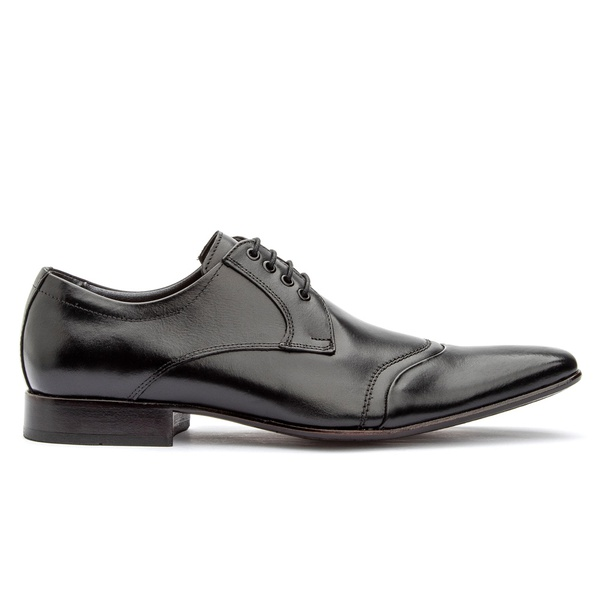 Sapato Social Masculino Preto em Couro