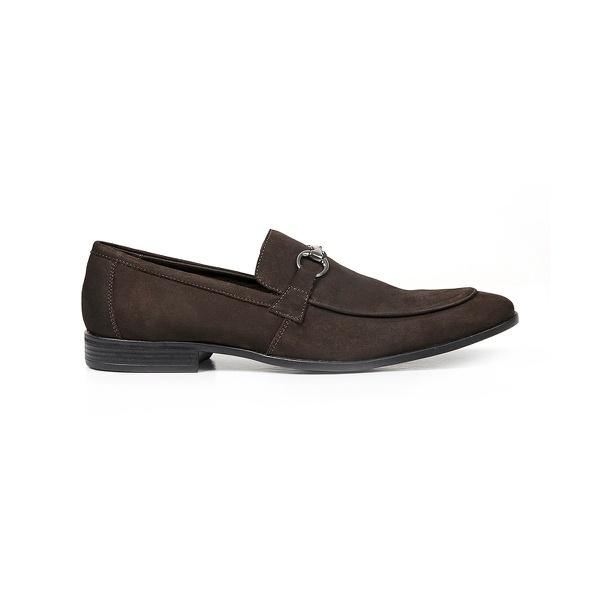 Sapato Casual Couro Café Nobuck
