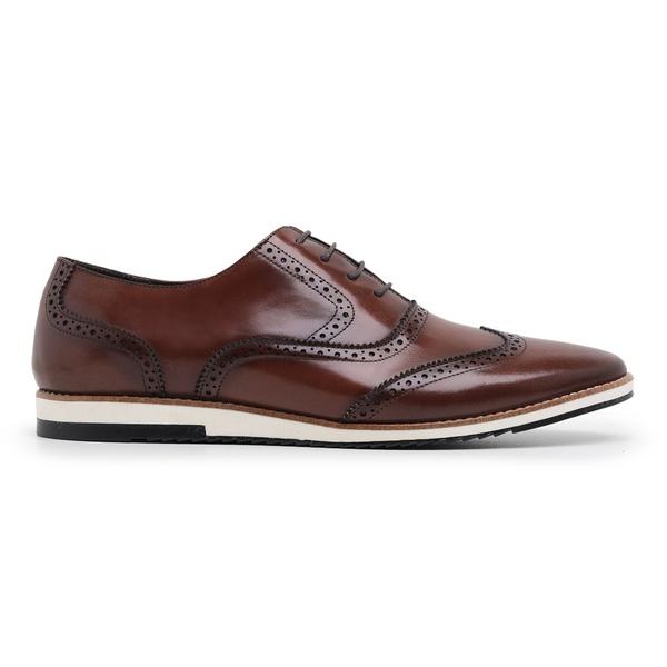 Sapato Casual Oxford Havana