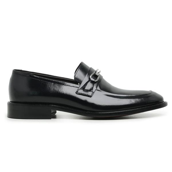 Sapato Social Couro Preto Premium