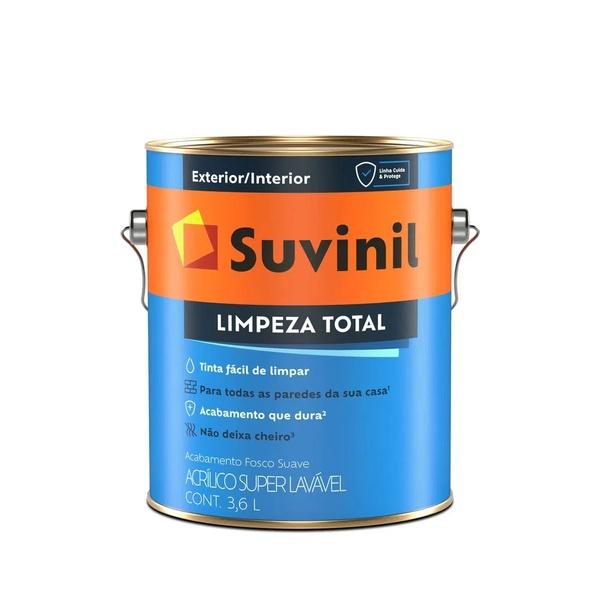 SUVINIL LIMPEZA TOTAL BRANCO 3,6L