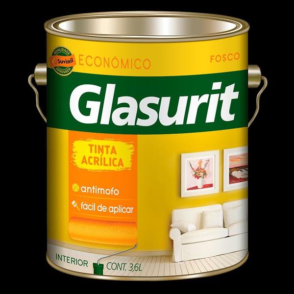 Tinta Acrílico/ Fosco Glasurit - 3,6l