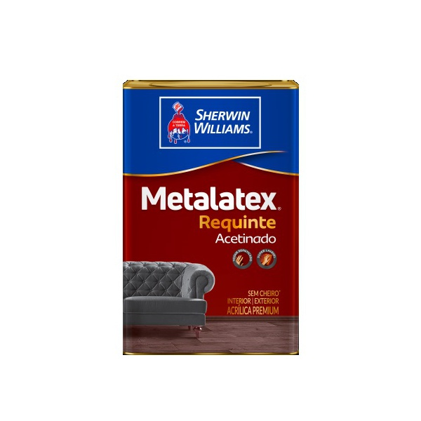 Metalatex Requinte tinta acrílica 18L - Super Lavável
