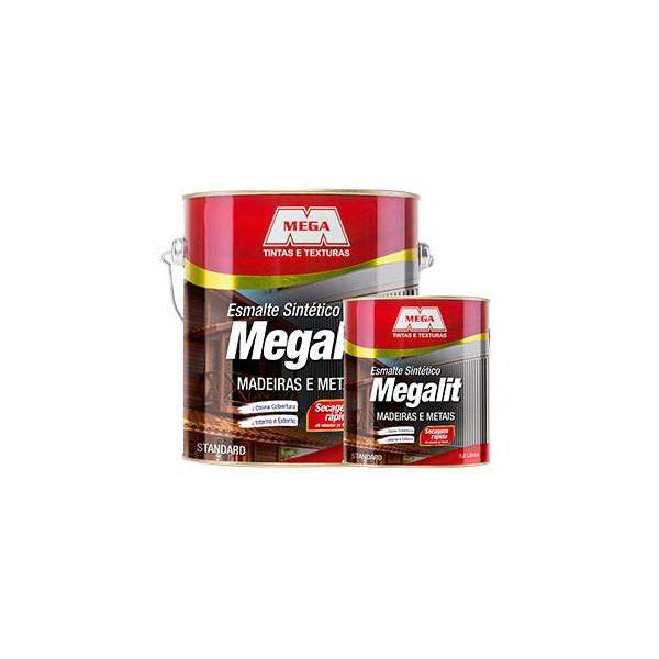 MEGA ESMALTE FOSCO 3,6L