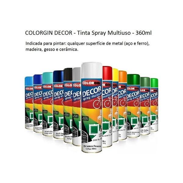 Tinta Spray COLORGIN DECOR