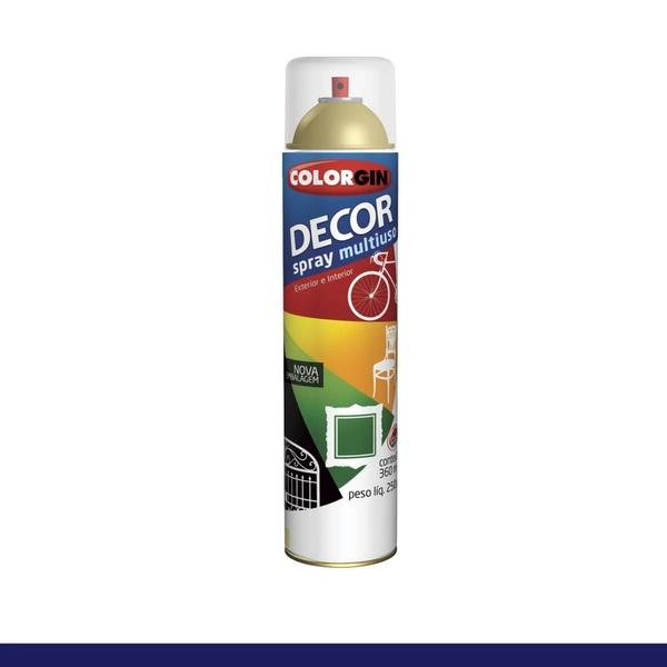 Tinta Spray Colorgin Decor Verniz INCOLOR