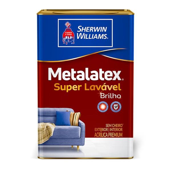 Metalatex Tinta Acrílica Semi Brilho Branco 18L