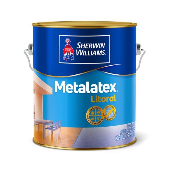 TINTA ACRÍLICA Metalatex Litoral Acetinado 3,6l