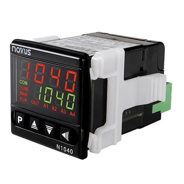 Controlador de Temperatura N1040 PRRR USB RS485 Novus