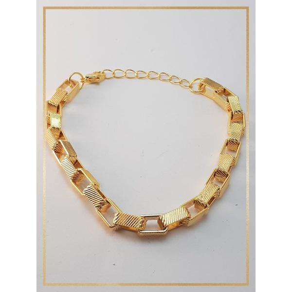 Pulseira Folheada Ouro 18k Cartier