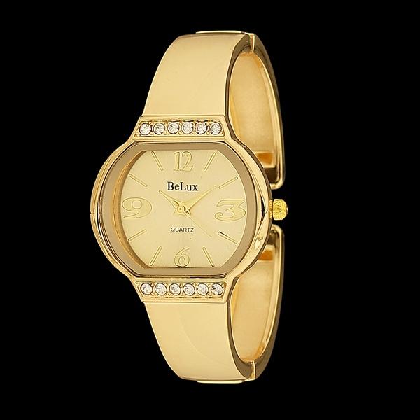 Relógio Bracelete Feminino com Strass