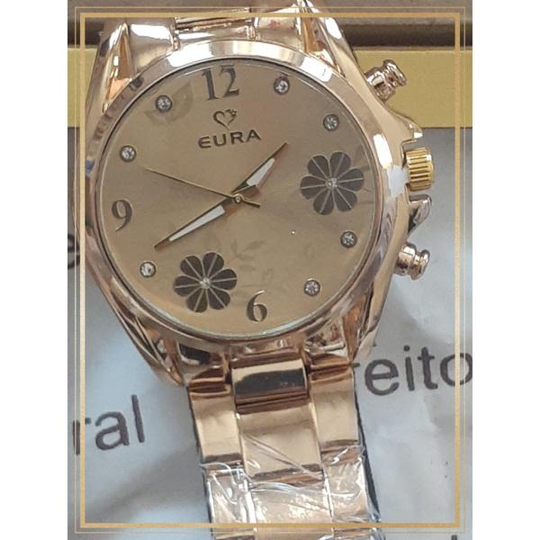 Relógio Feminino Ouro Trevo