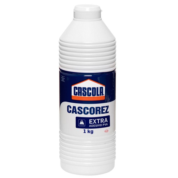 Cola Cascorez Extra 1kg Branca - Cascola