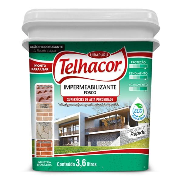 Silicone 3,6L Incolor - Telhacor