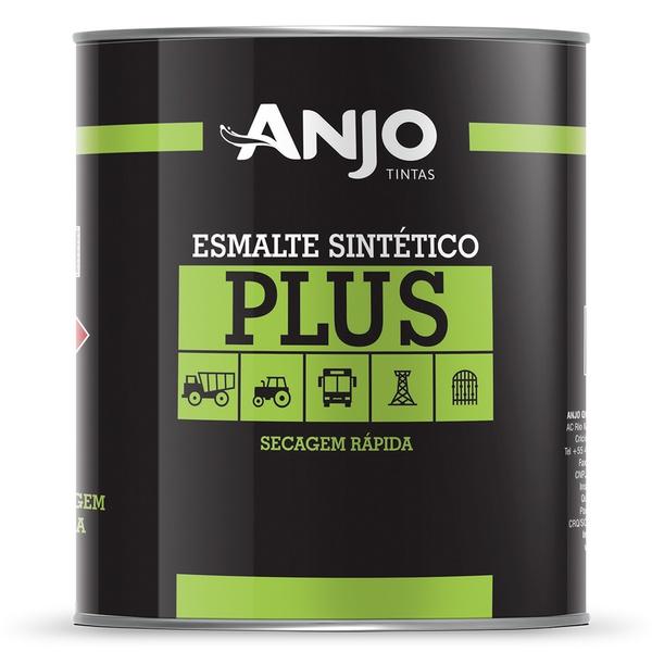 Esmalte Sintético Plus Semi-Brilho 0,9L Preto Chassis - Anjo