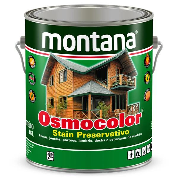Osmocolor Stain Preservativo 3,6L - Montana