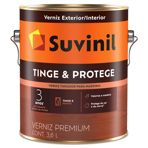 Verniz Tripla Proteção Brilhante 0,9L Natural - Suvinil