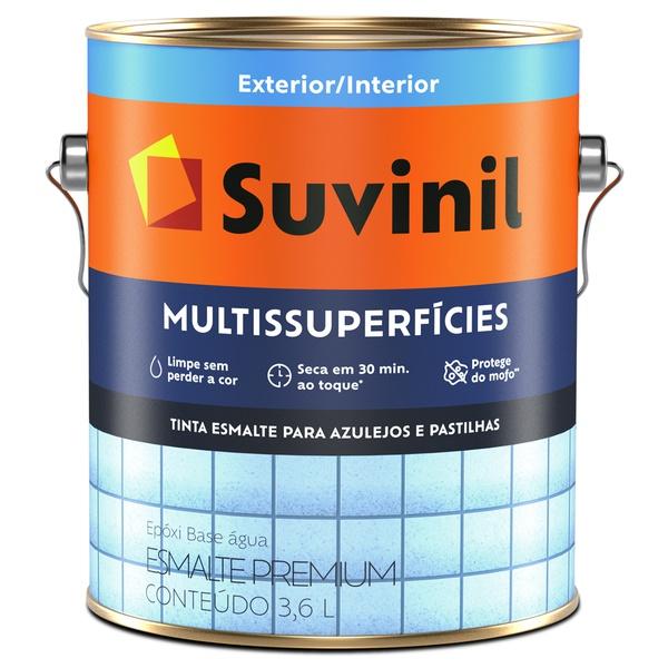 Tinta Epóxi Base Água Multissuperfícies Acetinado 3,6L Branco - Suvinil