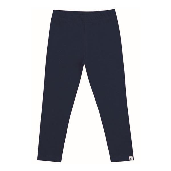 Legging Infantil Básica de Menina Azul Marinho Fakini