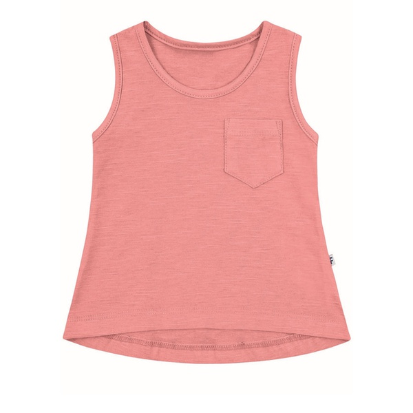 Regata Infantil Menina Mullet Básica Rosa Flamingo Fakini
