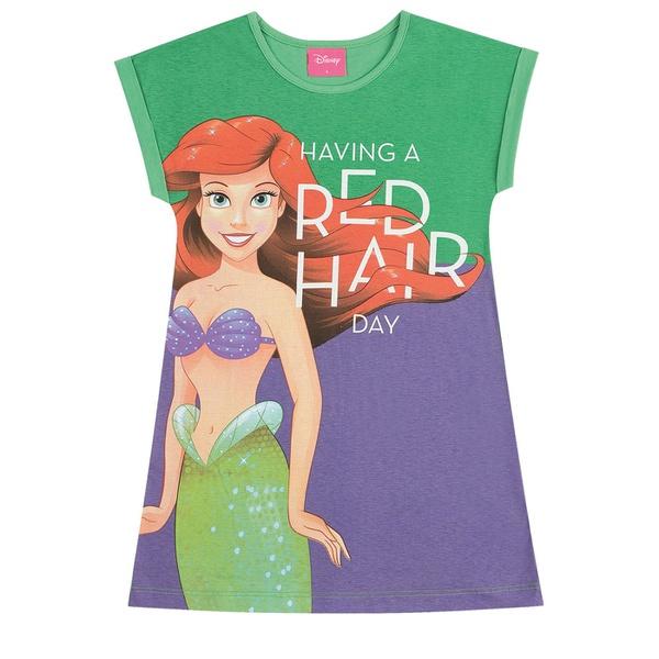 Vestido Infantil Kamylus Verão da Princesa Ariel