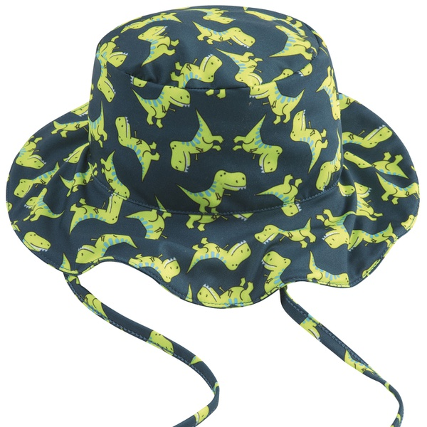 Chapéu Infantil Kamylus Menino Com Proteção UV 50 Estampa Dinossauros