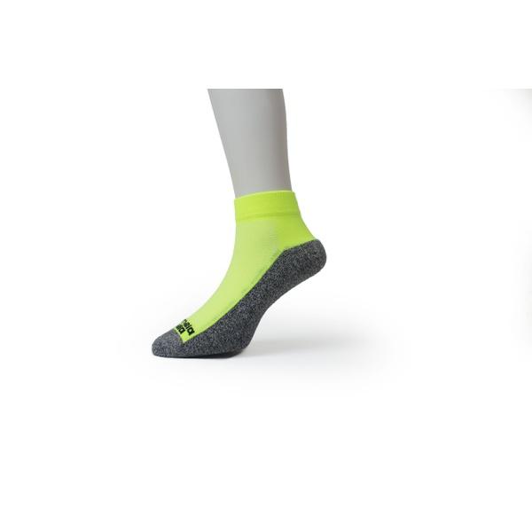 Meia Sport Cano Curto Premium Amarelo Fluor